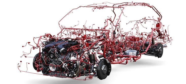 All The Wires In A Car