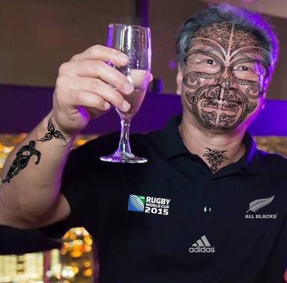 Getting into the Maori spirit for Rugby World Cup 2015