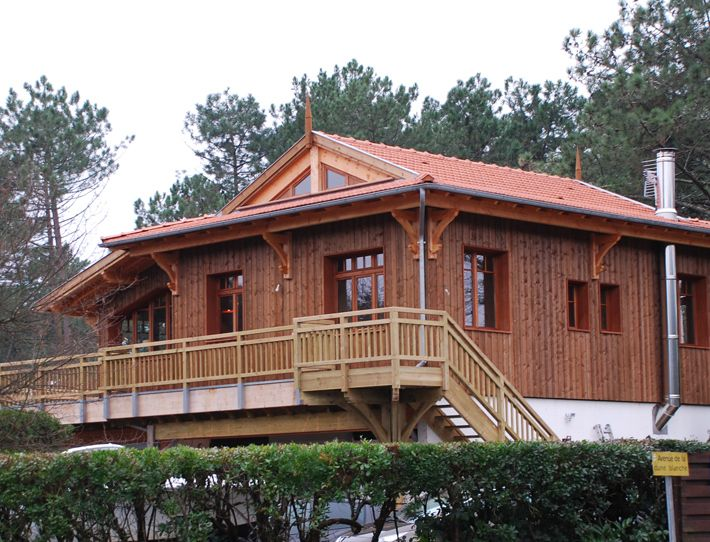 28 best maison en bois gironde images on pinterest