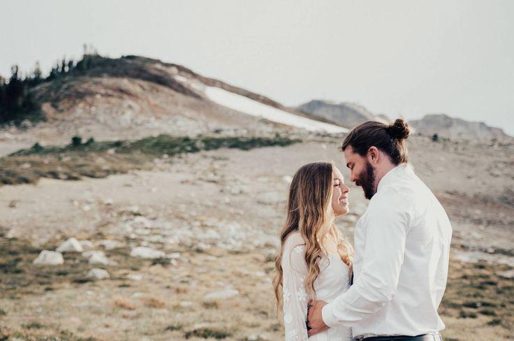 Whistler Elopement // Kristen & Grant via Rocky Mountain Bride