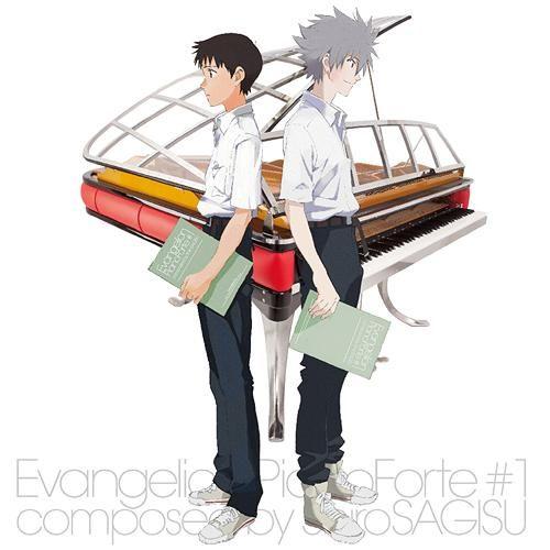 CDJapan : EVANGELION Piano Forte V.A. CD Album
