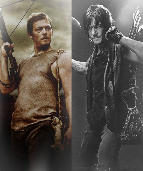 dont look at me like that....you know my clothes fall off when you look at me like that Mr. Reedus