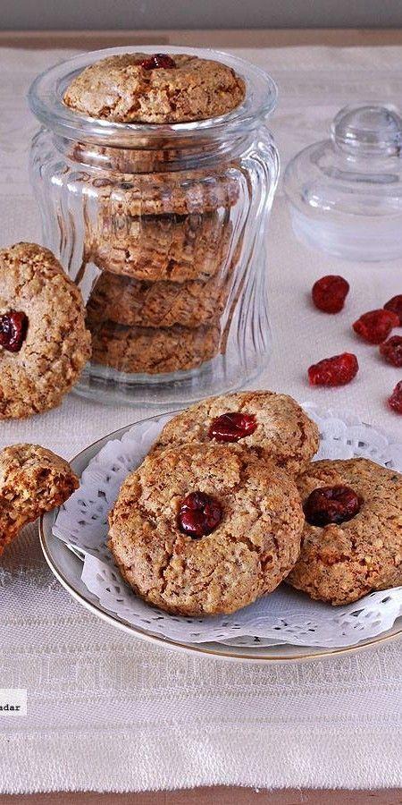 Receta de galletas de nuez sin gluten