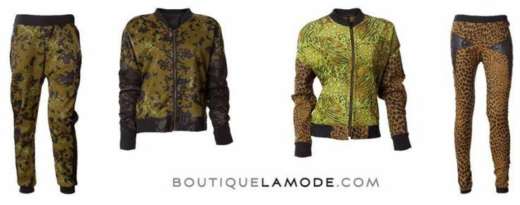 Streetwearowe wariacje na temat moro i motywów zwierzęcych w najnowszej kolekcji klu. by edyta jermacz? Jesteśmy bardzo na tak! #nacomaszochote http://boutiquelamode.com/