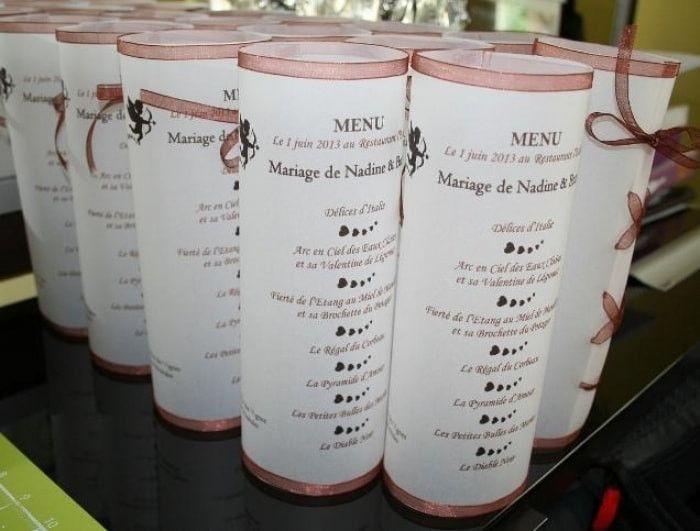 Idee Menu D Anniversaire De Mariage Unique Idee Deco Pour Menu Decoration Forum Mariages Idee Menu Mariages Uniques Menu Anniversaire