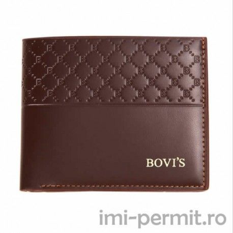 Portofel din piele barbatesc marca Bovi's