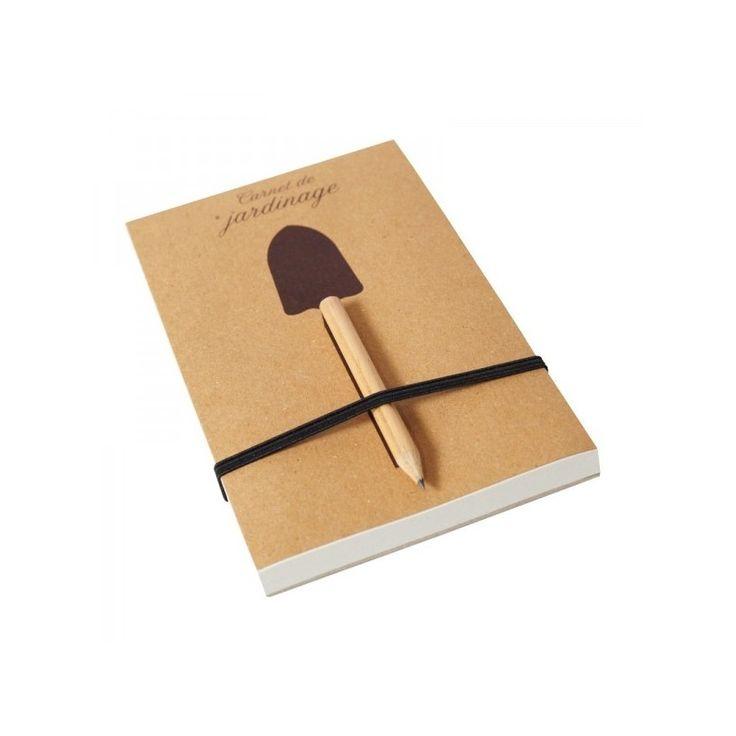 Carnet de Jardinage #BeMyGift #gardening #notebook #recycled #paper #gift #wishlist