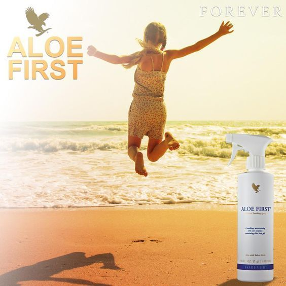 Aloe First® Spray This exclusive skin soothing formula is an excellent first step for soothing minor skin irritations. http://360000339313.fbo.foreverliving.com/page/products/all-products/7-personal-care/040/usa/en Need help? http://istenhozott.flp.com/contact.jsf?language=en Buy it http://istenhozott.flp.com/shop.jsf?language=en