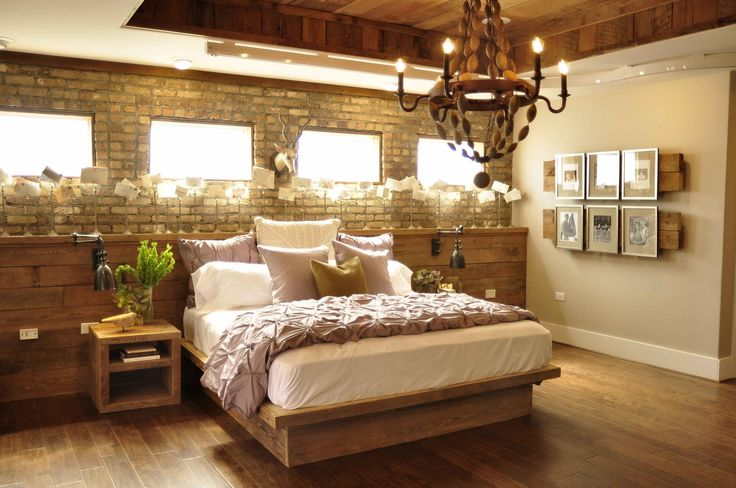 Nice design for a basement bedroom
