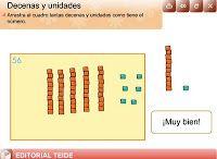 Primero de primaria: UNIDADES Y DECENAS (1-99)
