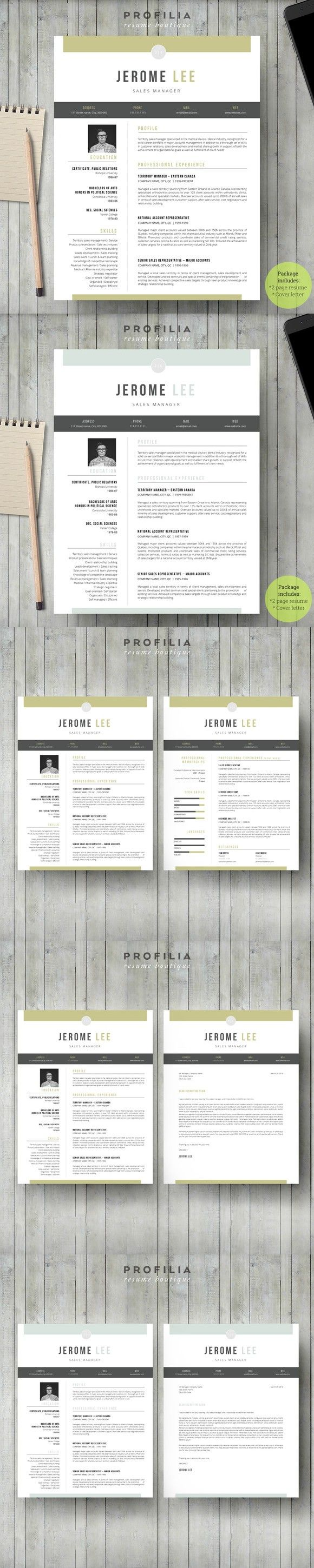 Word Resume u0026 Cover letter Template 769