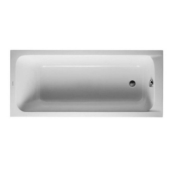 Duravit 63-inch Alpin D-code Soaking Bathtub