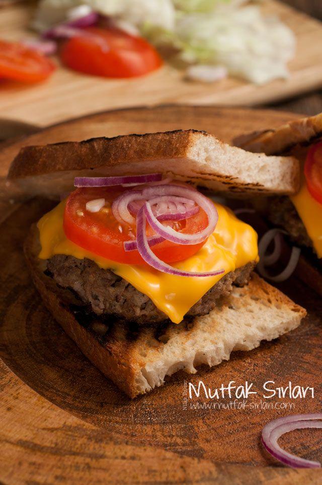 Ev Yapımı Cheeseburger – Gurme Burger Tarifi