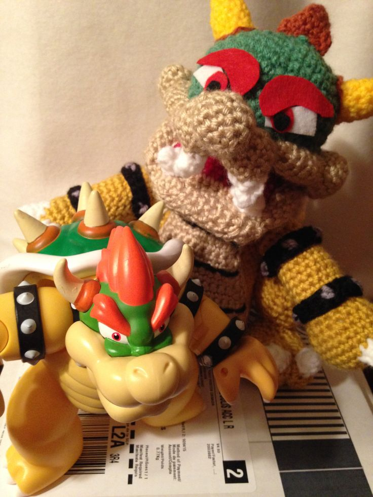 A personal favorite from my Etsy shop https://www.etsy.com/ca/listing/254083287/bowser-super-mario-inspired-crochet