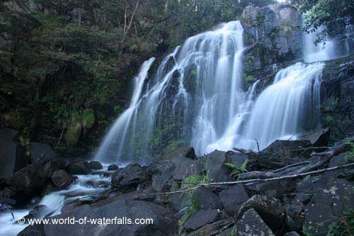 Snobs Creek Falls  Rubicon State Forest, Victoria, Australia