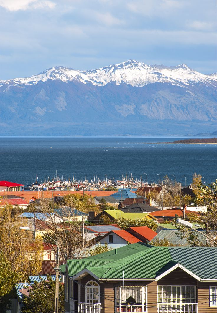 Puerto Natales, Magallanes Region, Chile.
