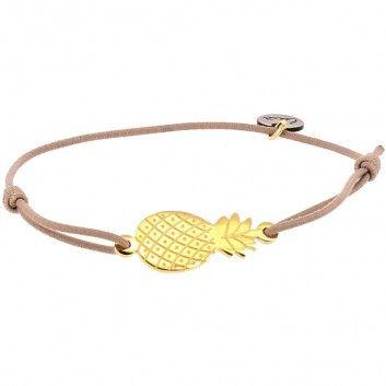 Ein Armband mit Ananas garantiert Spaß und Exotik! Wirf einen Blick auf das süße Stretcharmband vom Label lua und freu dich!
