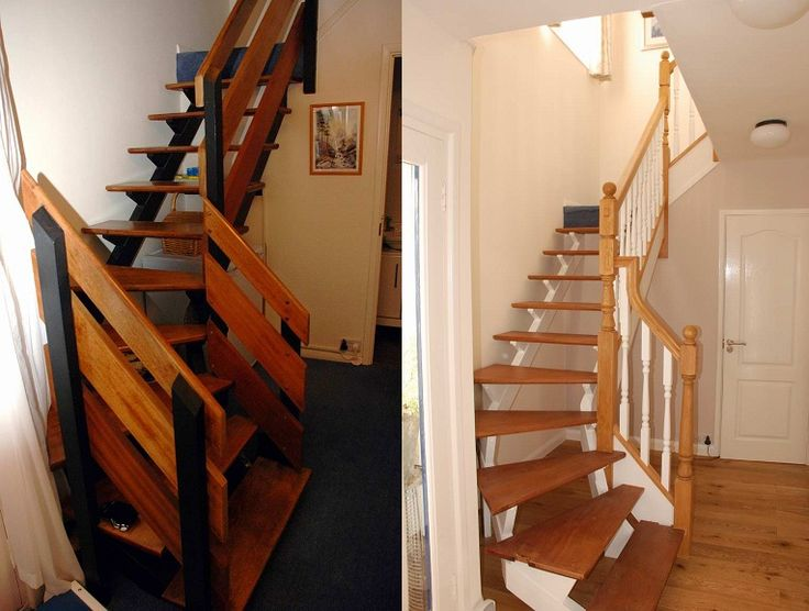 This staircase is totally #tranformed thanks to  Richard Burbidge Trademark Stairparts #homeimprovements
