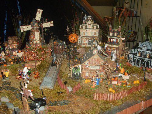 1278 best Halloween Village Displays images on Pinterest ...