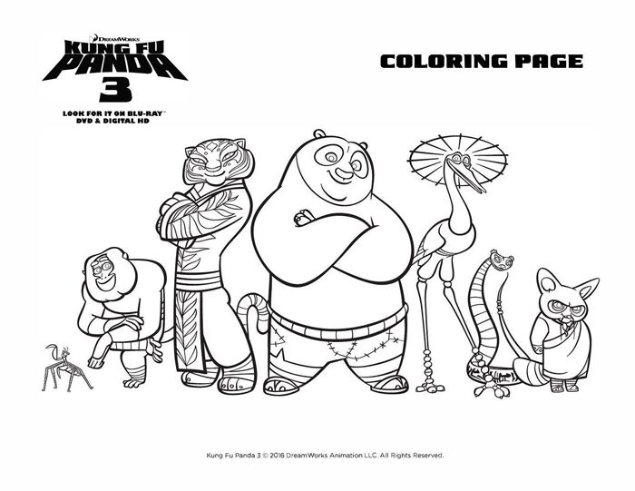 45 best karate color pages images on pinterest coloring for Kung fu panda 2 coloring pages