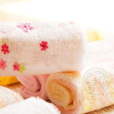 1Pcs Hot Cotton Rich Colors Microfiber Baby Bath Towels Kid Bibs  Waterproof.. USD 0.99