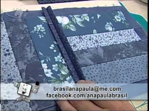 Ateliê na Tv - Tv Século - 29-09-12  utilizando a pistola de Alinhavo....Ana Paula Brasil
