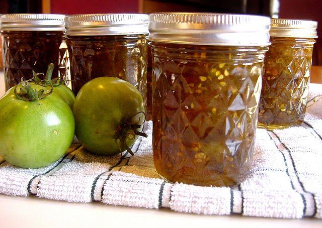 Canning: Green Tomato Jam
