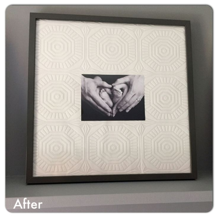 customise your frame with wallpaper ikea frame picture. Black Bedroom Furniture Sets. Home Design Ideas