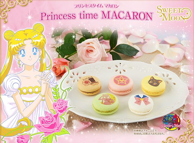 Not just Sailor Moon, but Sailor macarons as anime combines with elegant confectionaries