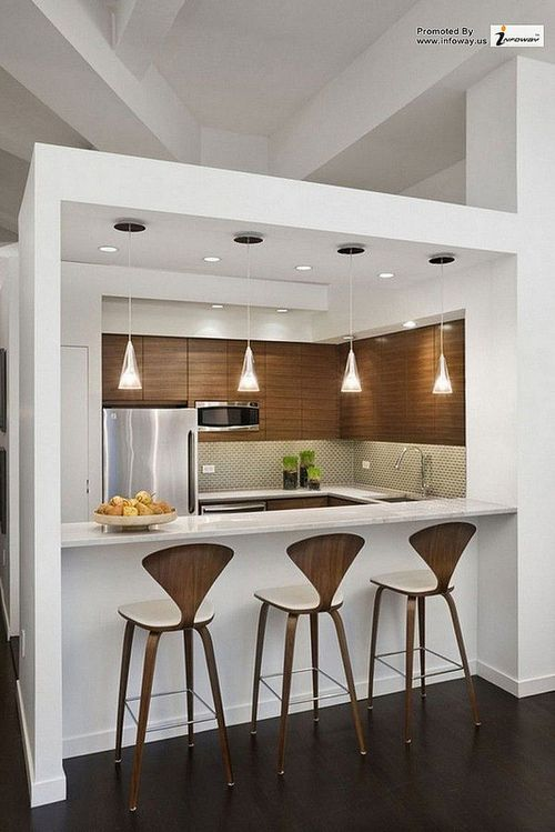 Best 25+ Small kitchen bar ideas on Pinterest | Kitchen reno, Kitchen  island bar and Small house renovation