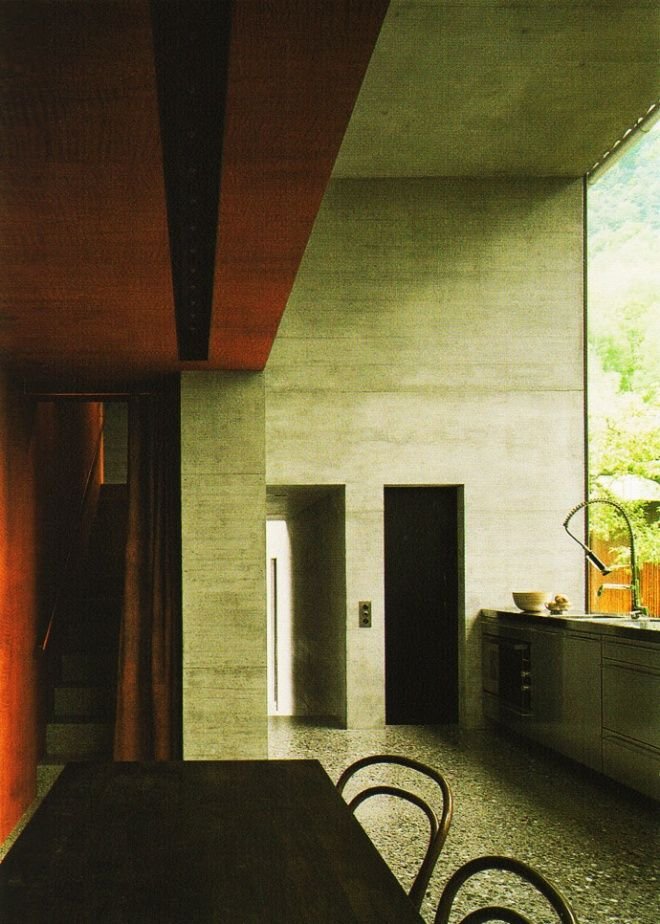 Peter Zumthor: Zumthor Houses, Peter O'Tool, Architecture Peter, Interiors Design, Pritzker 2009 Peter Zumthor, Modern Kitchens, Home Studios, Design Home, Design Blog