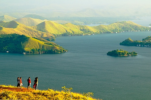 Sentani Lake - Papua province, Indonesia