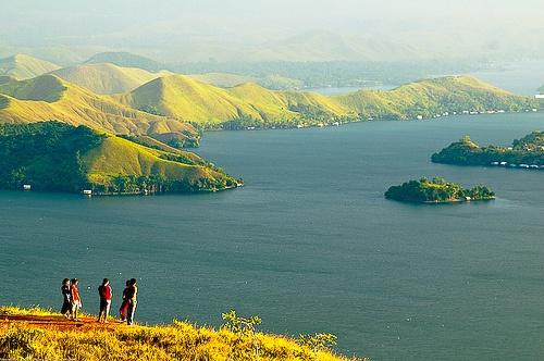 Sentani Lake - Jayapura, Indonesia