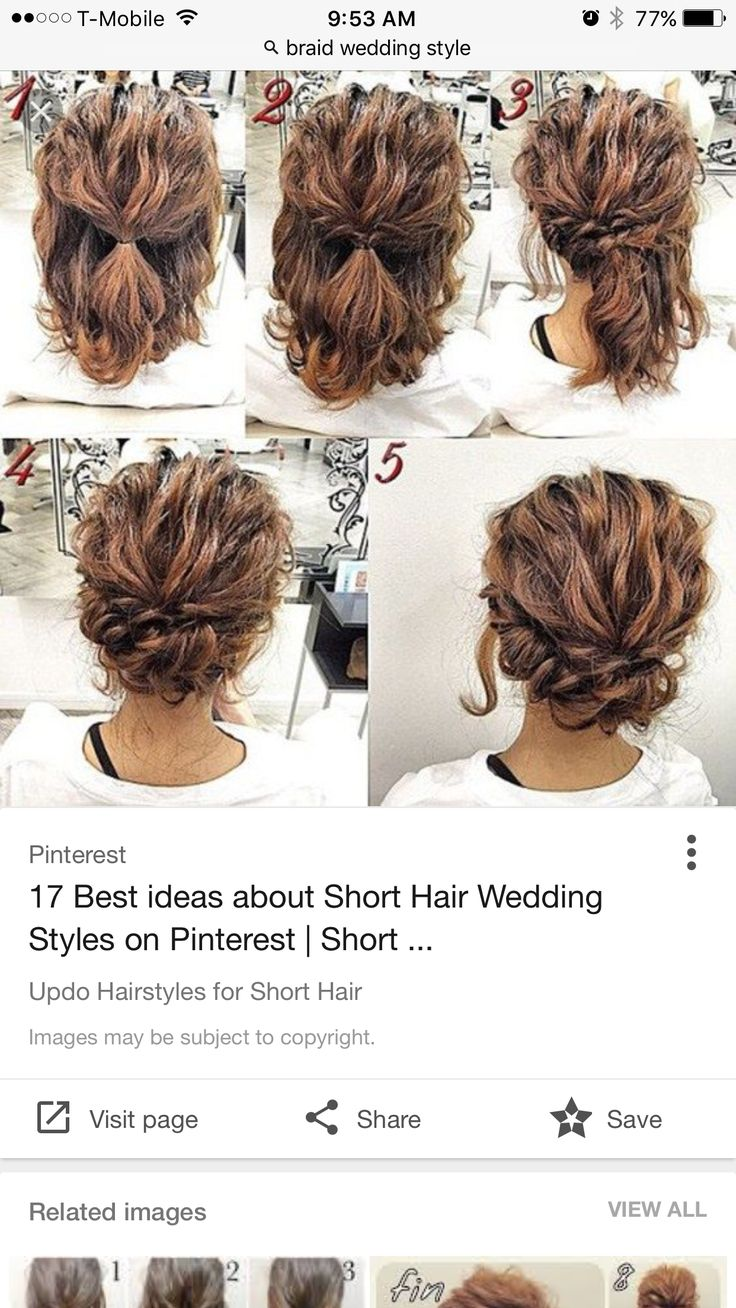 23 best Wedding Hairstyles images on Pinterest | Bridal hairstyles ...