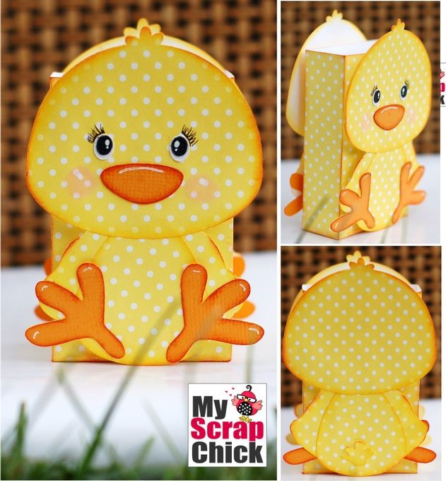 Sweet Chick Treat Bag: click to enlarge