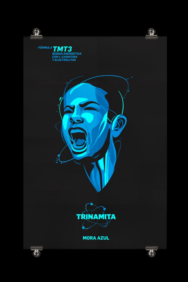 TRINAMITA by NETOPLASMA , via Behance
