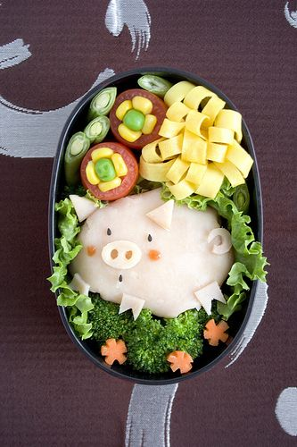 heehee .. If my baon wouLd be thiS cute .. I wouLd probabLy not eat it . :D