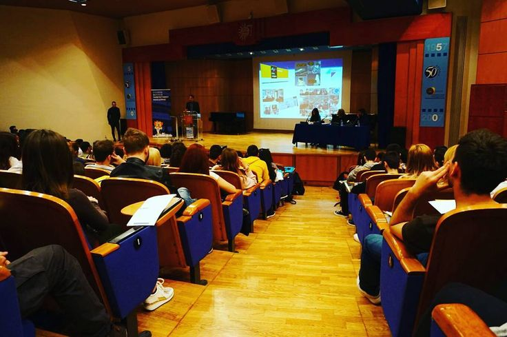 Second step the presence in Create Your Future (CYF) Congress 2017 of Student Association of University of Macedonia.