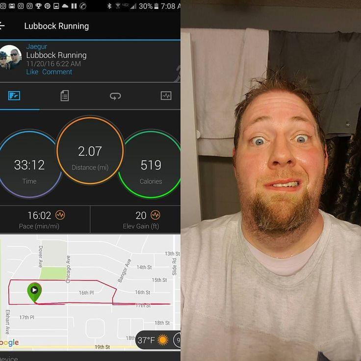 """Woke up around 5 this morning and kinda just wanted to go for a run lol. My longest solo """"run"""" (like a good chunk was walking-ish) and one thing I learned - I need some cold weather head gear and some gloves.  #weightlossmotivation #weightloss #fitness #getfit #weightlossjourney #nopainnogain #eatwell #nerds #strength #smallgains #goals #lifting #cardio #gymlife #fitfam #exercise #nofilterjustfat #justloseit #fattofit #running #triathlontraining #garminconnect #wahoo #dontjudgeme"""