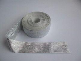 Poze Panglica argintie 40 mm