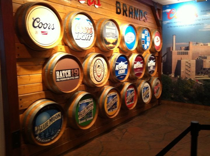 15 miles West of Downtown Denver, lays the original Coors Brewery in the town of Golden, Colorado.