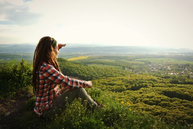 #amazing #view #dreadlocks #nature #hike