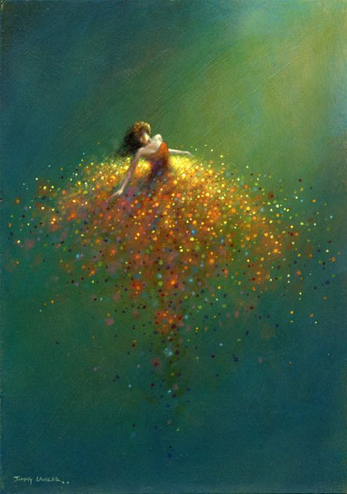 Jimmy Lawlor – Artiste peintre : Juste Superbe !   Ma danse du monde