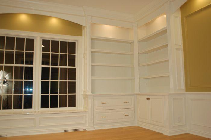 Custom Home Office - Artisan Custom Bookcases