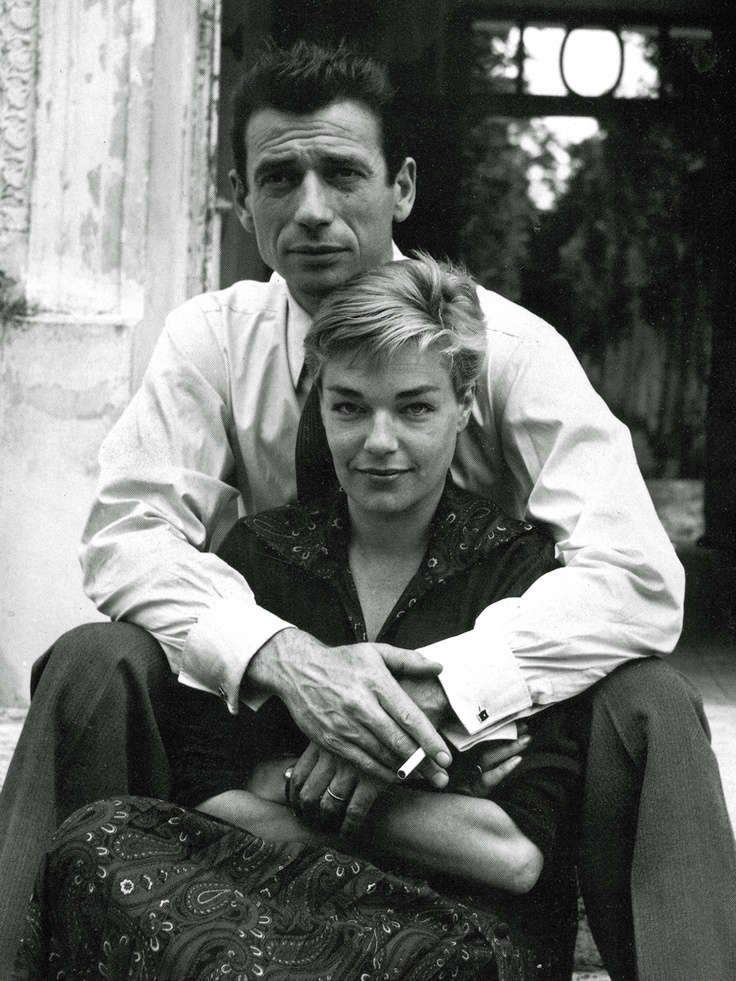 Yves Montand et Simone Signoret Married in 1951 until her death in 1985. 34 years, both great actors...