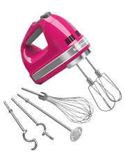 Kitchenaid KHM926 Artisan 9 Speed Hand Mixer in Cranberry for $175 on sale at Myer