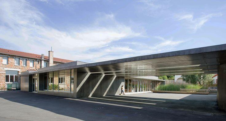 Yoonseux Architectes : Extension de l'école Jules Ferry - ArchiDesignClub by MUUUZ - Architecture & Design