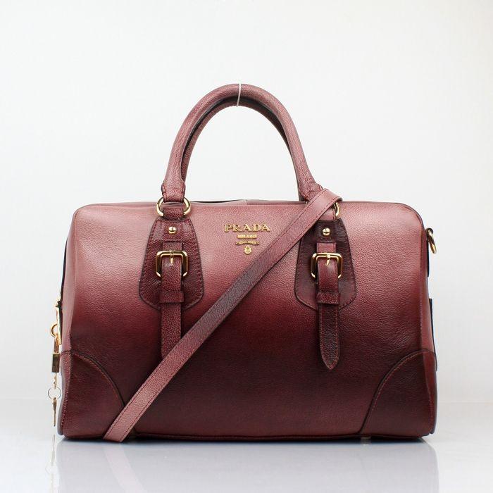 prada hand bags | Prada Leather Bags :: Prada Outlet Grain Leather Red Gradient Bags ...