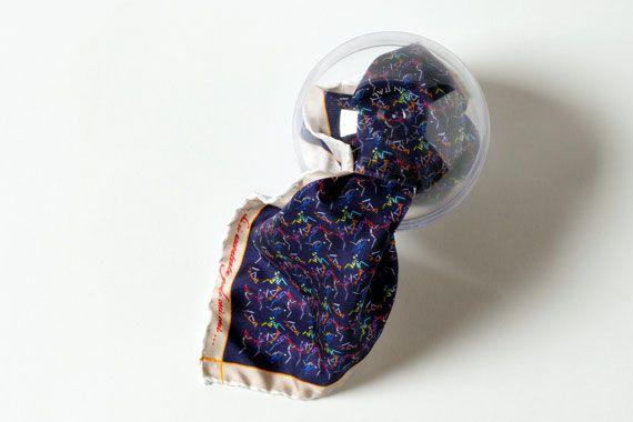 FeFè pochette di seta con motivi Kamasutra