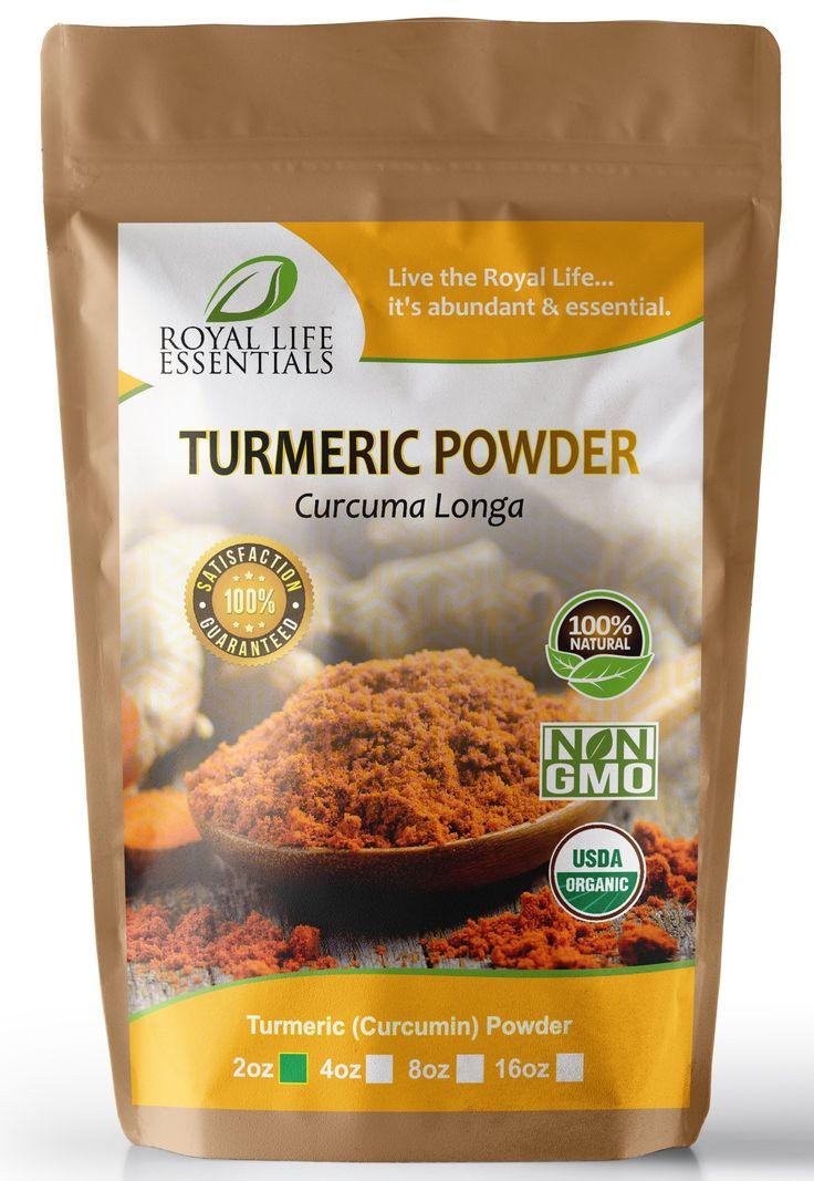 USDA Certified Organic Turmeric Curcumin Powder
